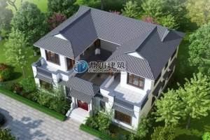 中式2层别墅设计效果图,满满的豪宅感!