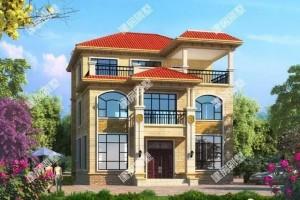 2栋农村自建别墅设计方案,搭配欧式构件,外型美观。