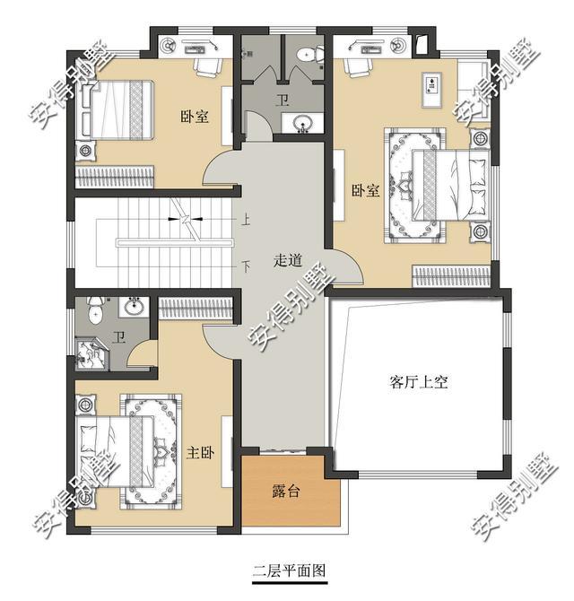 占地11.2x12.8m的3层新中式别墅,超靓的设计,亲戚朋友都来赞