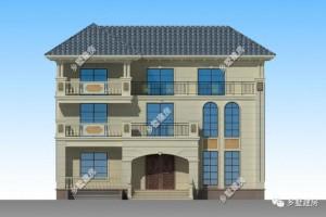 16×9三层欧式别墅设计方案,实用性非常高。
