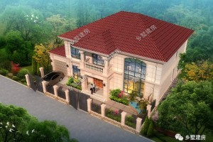 14x13米2层别墅设计图纸,让人眼前一亮的款型。
