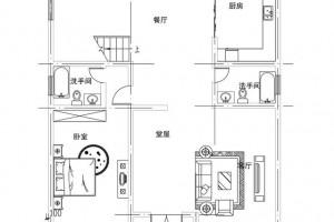 新农村别墅三层设计外观图,造价便宜。