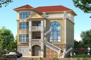 2栋四层农村自建别墅设计方案,非常上档次。