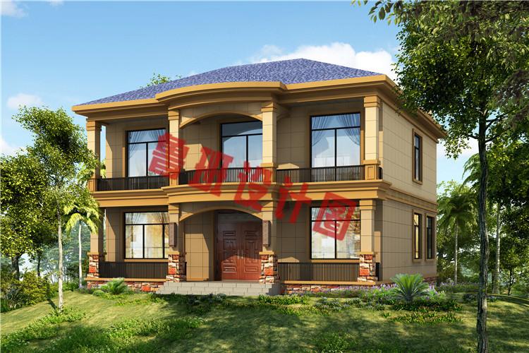 私人订制最新二层别墅设计效果图