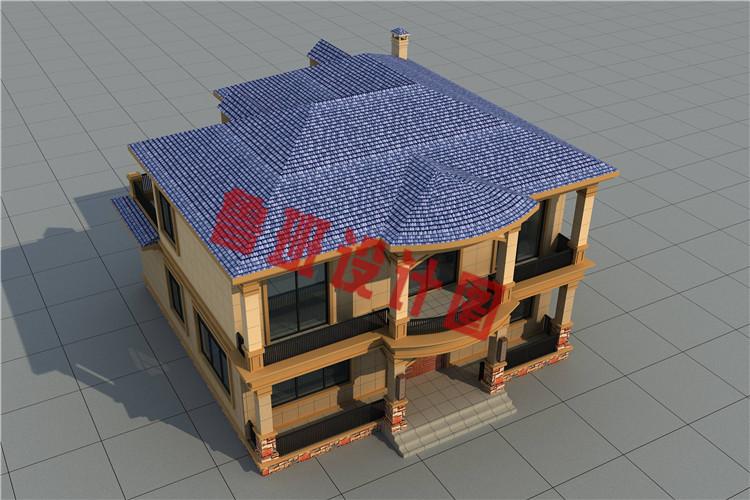 私人订制最新二层别墅设计图片
