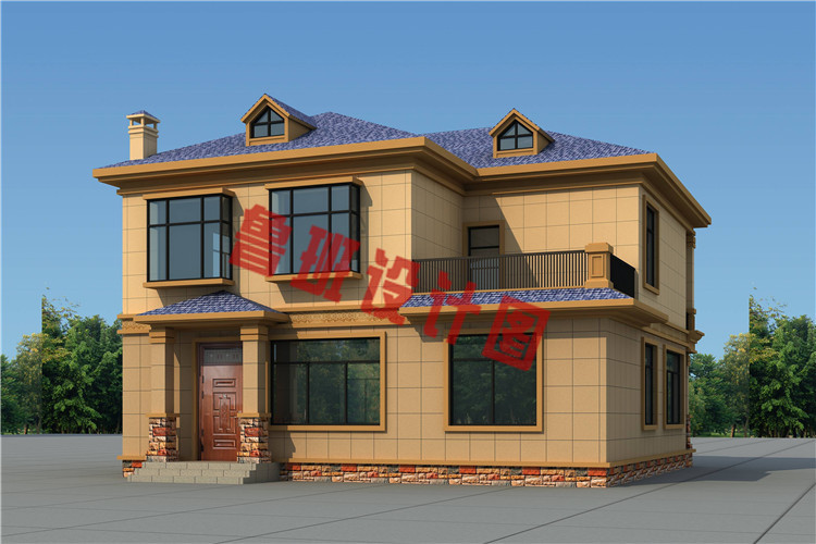 私人订制最新二层别墅设计外观图