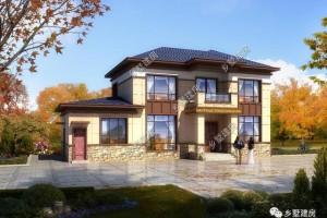 返乡建二层小别墅设计图纸,引领自建房新潮流。