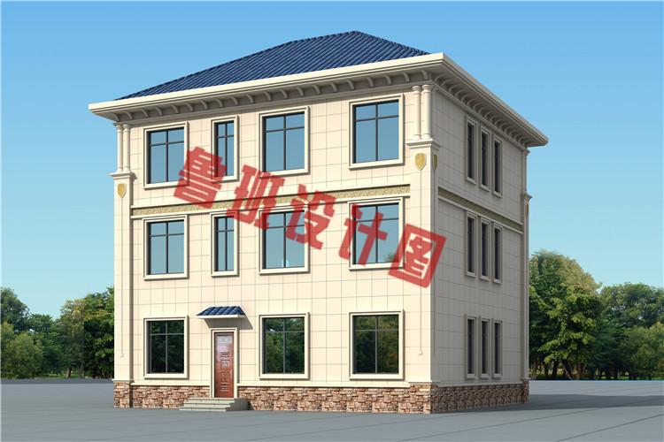 农村三层复式自建房别墅设计图片