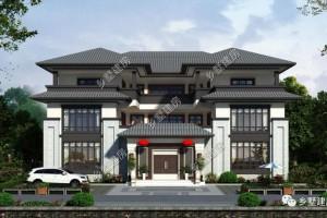 中式四合院别墅方案,让家人脸上增光。