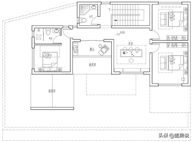 别墅设计:三层徽派别墅,这马头墙看起来漂亮极了,不愧是经典