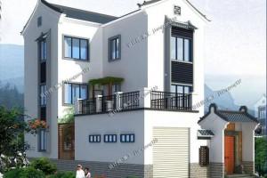 传统中式别墅设计方案,外观新颖打破传统。
