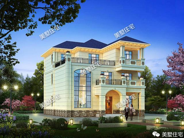 当欧式别墅遇到中式风格别墅,漂亮的让人移不开眼神