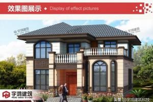 三栋2层别墅设计方案,漂亮和实用并重。