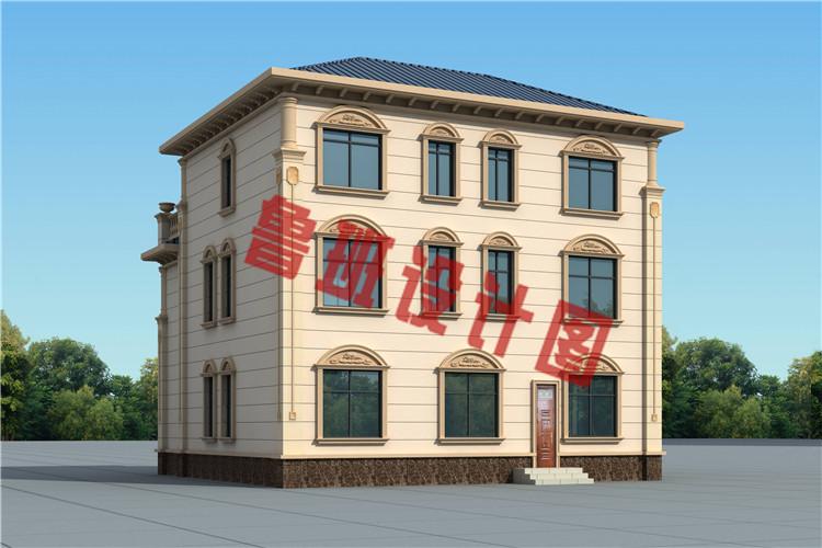 新款三层欧式复式别墅设计图片