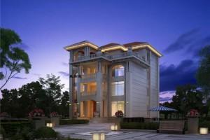 四层欧式别墅图片,福建地区比较流行的款式,土豪版。
