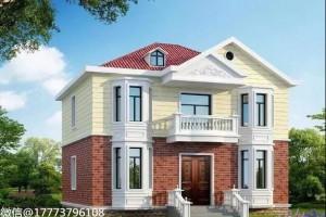 占地面积106㎡别墅设计参照图,十分赏心悦目。