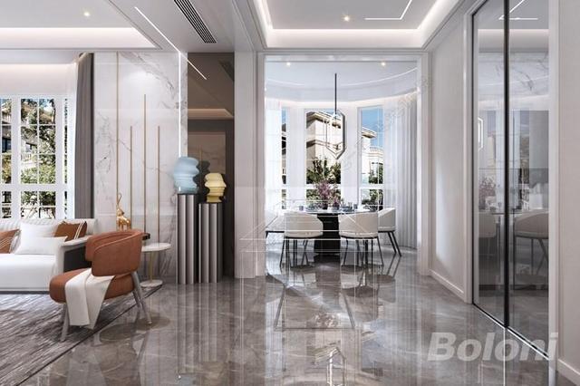 北京博洛尼现代简约别墅设计案例 以简胜繁品味生活百态