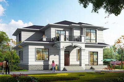 30万左右简单二层乡村小楼房设计图片,含外观效果图