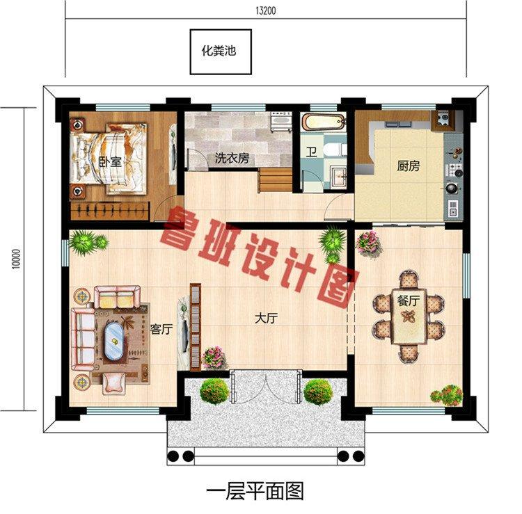 2019二层农村新款别墅设计图,外观简约而不简单