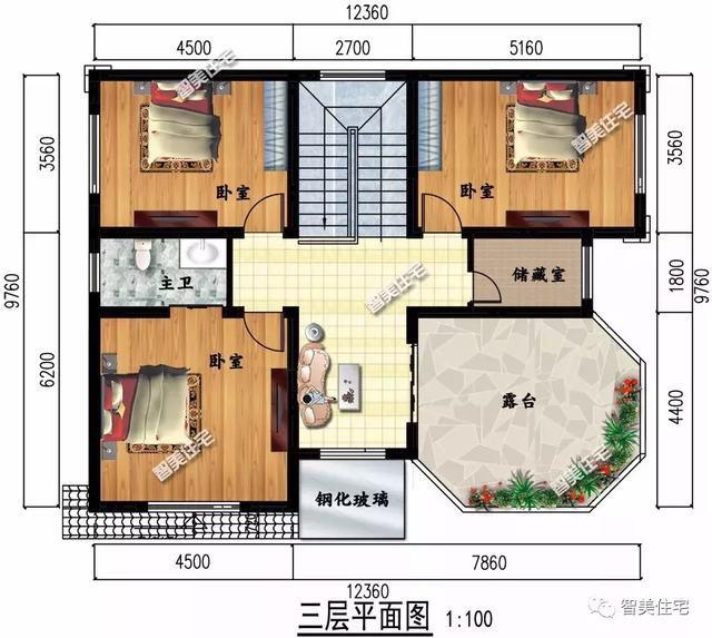 开间12米多的自建房,农村人都住的这么好,谁还愿意留在城里?