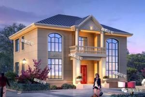 外观漂亮的自建房户型图纸,如此的与众不同。