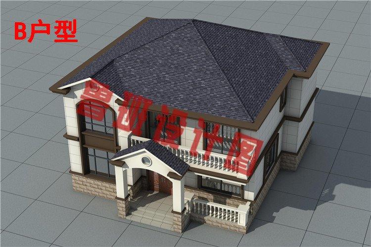 农村二层别墅设计图片