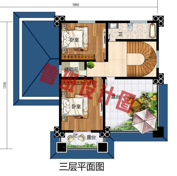 最好看的农村三层楼房设计图,颜值高,高端、大气