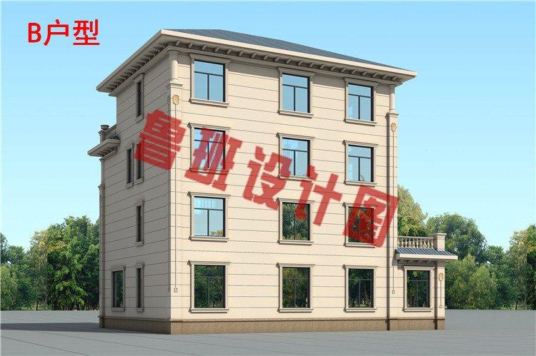 2019年新款豪华高端四层别墅房屋设计图片