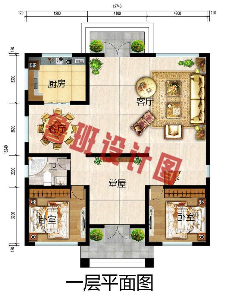 新款欧式三层别墅自建房设计图,一见钟情,爱不释手