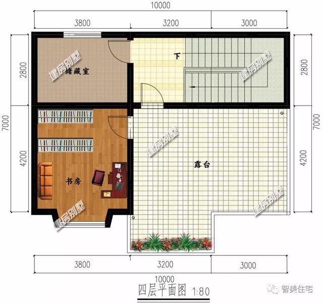 进深7米多的两栋农村别墅,生活同样方便,造价也经济
