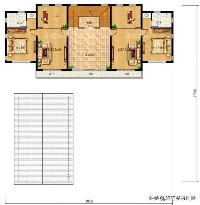 21.6X32m三层中式合院,风华院墅正当红