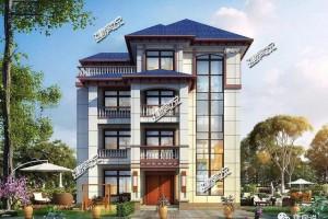 新中式四层别墅设计方案,造型别致,让人过目难忘。