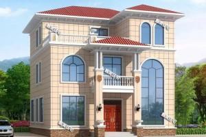 主体30来万三层别墅设计案例,谁看了能不心动呢?