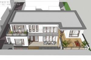 农村三层别墅大全,现代简约主义设计。