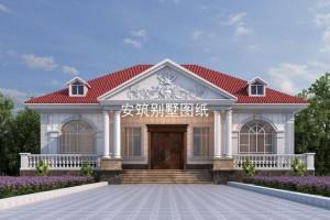 一层别墅效果图,外观精致,理想中的住宅!