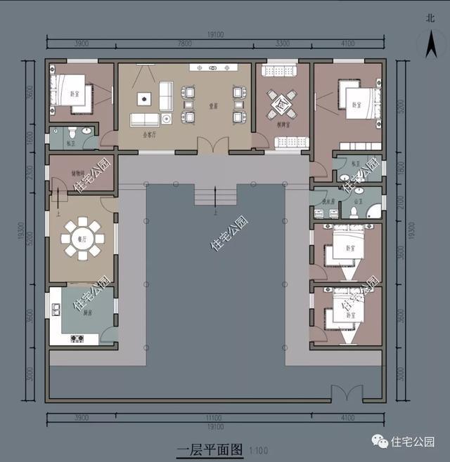 回村盖房还是中式三合院漂亮,比别墅有品位,比厢房更实用