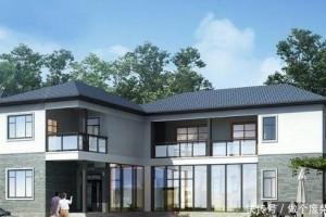 40万中式别墅设计方案,外观简洁,经济实惠,经久耐看。