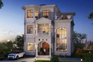 400平米的三层别墅设计图纸 ,为什么北面不开窗呢?
