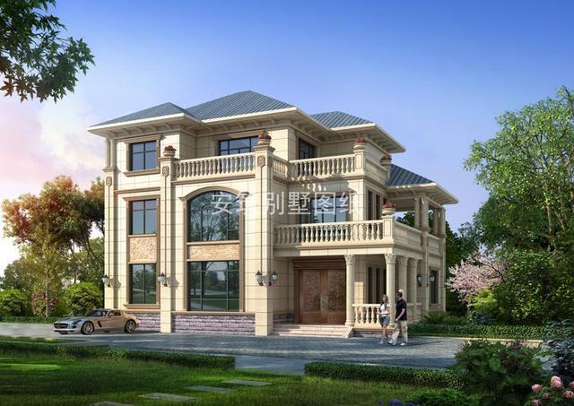 农村三层别墅至少抵城里两套150平的房子这年头隐形富豪多的是