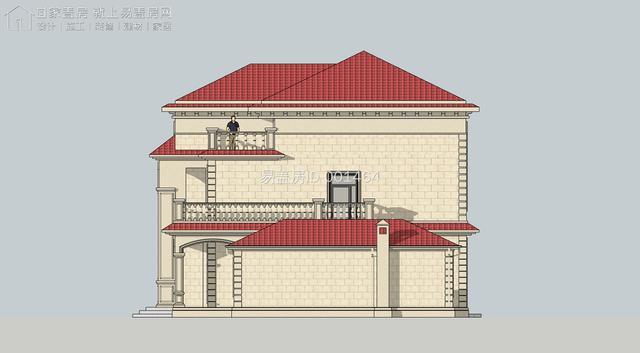 湖南长沙易盖房带附属楼的靠山欧式别墅靠谱吗