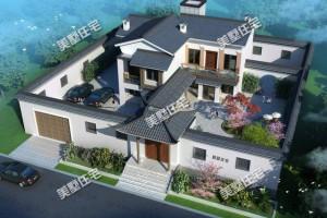 大气典雅的中式别墅设计图纸,国人心中最理想的住宅!