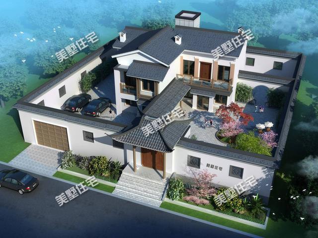 最美中国风、中式别墅,国人心中最理想的住宅!
