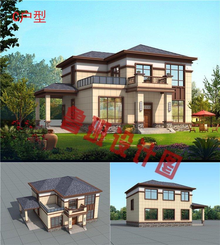 新中式二层别墅