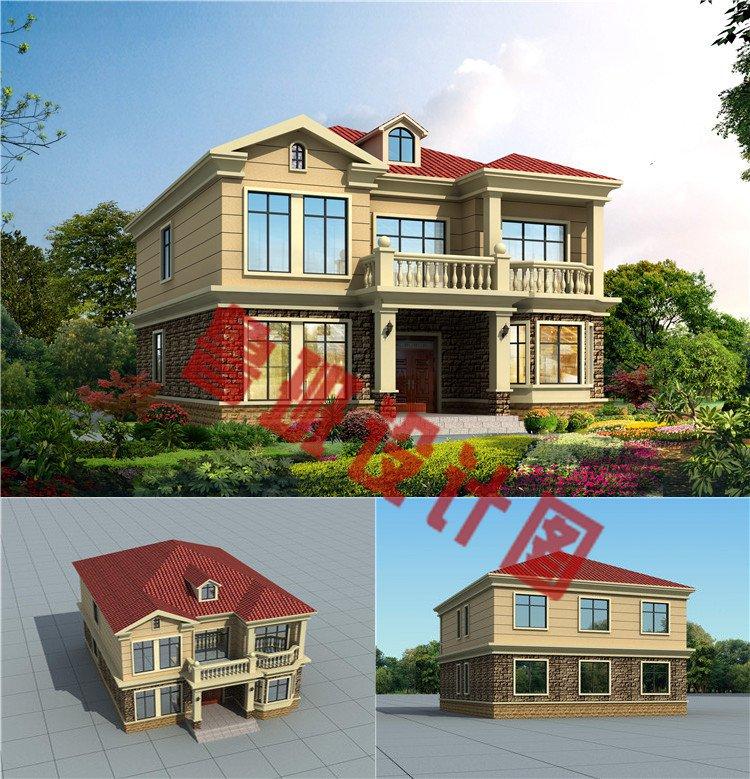 二层欧式别墅设计图