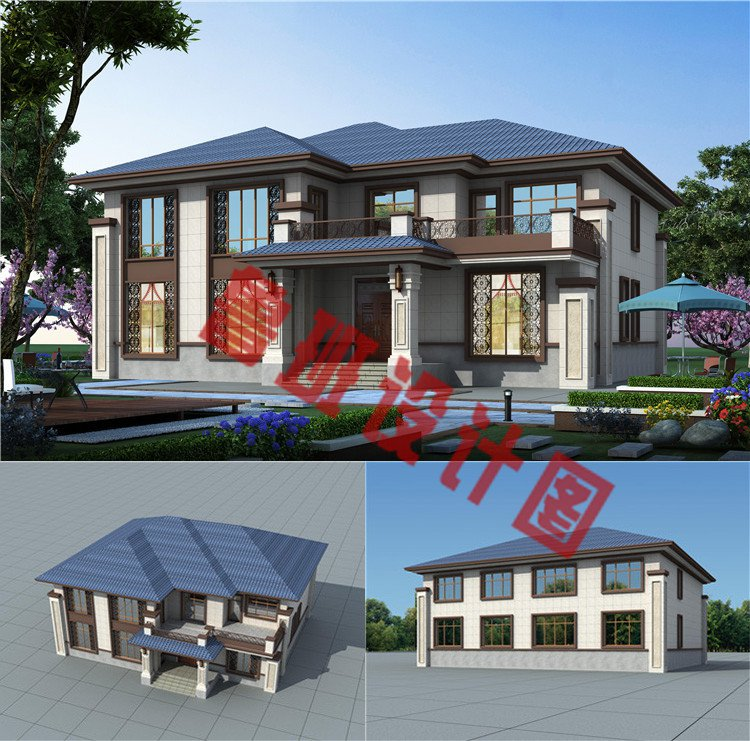 二层新中式别墅