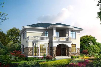 170平方米农村二层自建楼房户型设计图,全套施工图+效果图