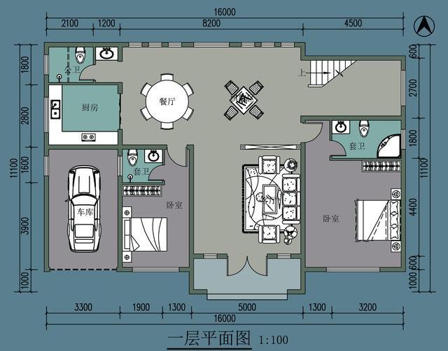 3套坡屋顶现代别墅,第2套90后最爱,一套比一套更便宜