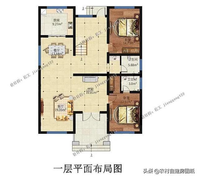 4款中式二层农村别墅,第3款适合建在风景区,值得三代传承