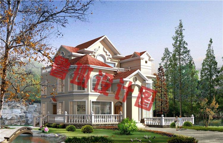 农村三层欧式别墅设计图