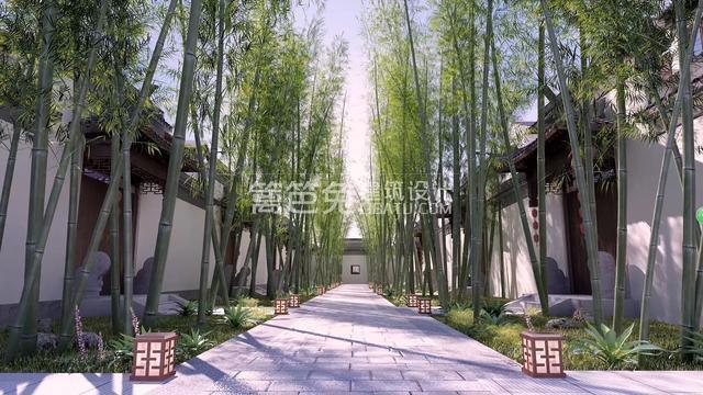 看厌了土掉渣的乡村欧,这才是真正的中国式豪宅带落地窗的四合院